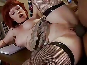 Meaty ebony tissue for 3 in a word gothic college girl