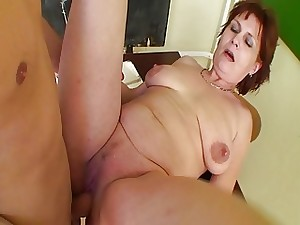 Redhead Mature Teacher Sex In Detention Class