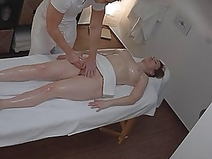 Mind-blowing Massage Turns into Hard-core Mummy Drill with Or