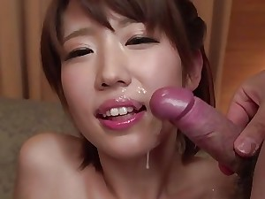 JAPAN HD Humid Asian Teenager finishes off and creams