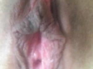 Masturbation, XXL lips, cum, female