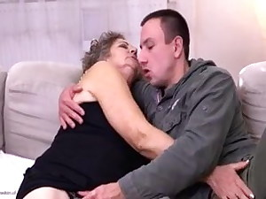 Granny Fucked By A Junior Man