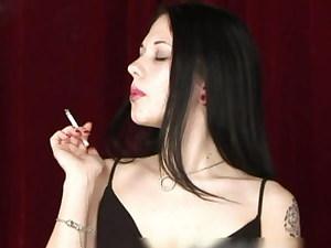 Smoker with and Attitude Plays Black Jerk