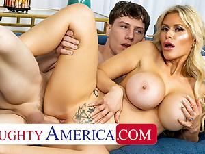 Naughty America - Sexy Casca Akashova likes to screw and suck